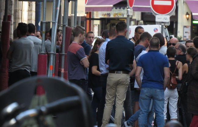 Ouverture du bar identitaire La Citadelle à Lille, le 24 septembre 2016