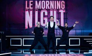 """Vincent Desagnat, Michaël Youn et Benjamin Morgaine reprennent du service dans le """"Morning Night""""."""