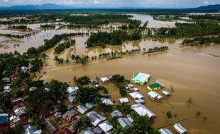 Les Philippines après le passage de la tempête Tembin, le 24 décembre 2017.