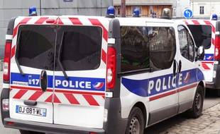 Un véhicule de police à Nantes (illustration)