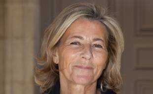 Claire Chazal à la Fashion Week de Paris en octobre 2015