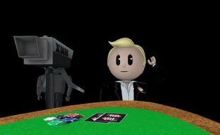 Capture d'écran de la série sur le poker «The Micros».