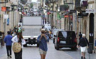 A partir du lundi 31 août, le masque sera obligatoire dans tout le centre-ville de Bordeaux