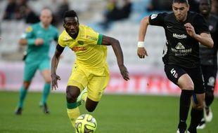 L'attaquant nantais Ismaël Bangoura.
