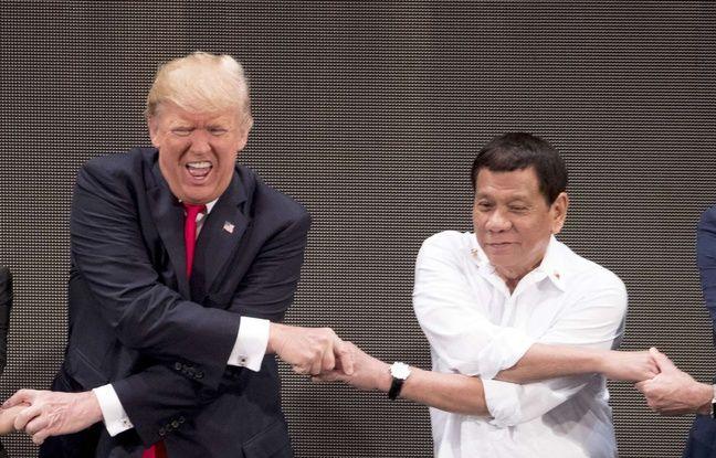 Philippines: Trump assure que la rupture du pacte militaire avec les Etats-Unis «lui est égale»