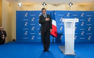 François Fillon après sa victoire à la primaire de la droite le 27 novembre 2016.