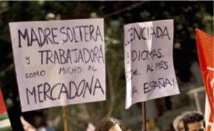 L'Espagne s'est mise en grève générale.