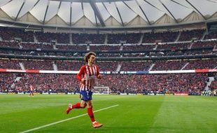Antoine Griezmann avec l'Atlético de Madrid.
