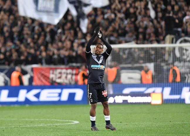 Malcom lors de son dernier match au stade Chaban-Delmas.