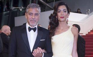 George et Amal Clooney  au 69e Festival de Cannes