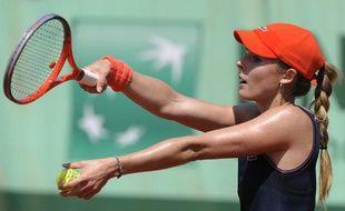 La Française Alizé Cornet, le 28 mai 2012? àRoland-Garros.