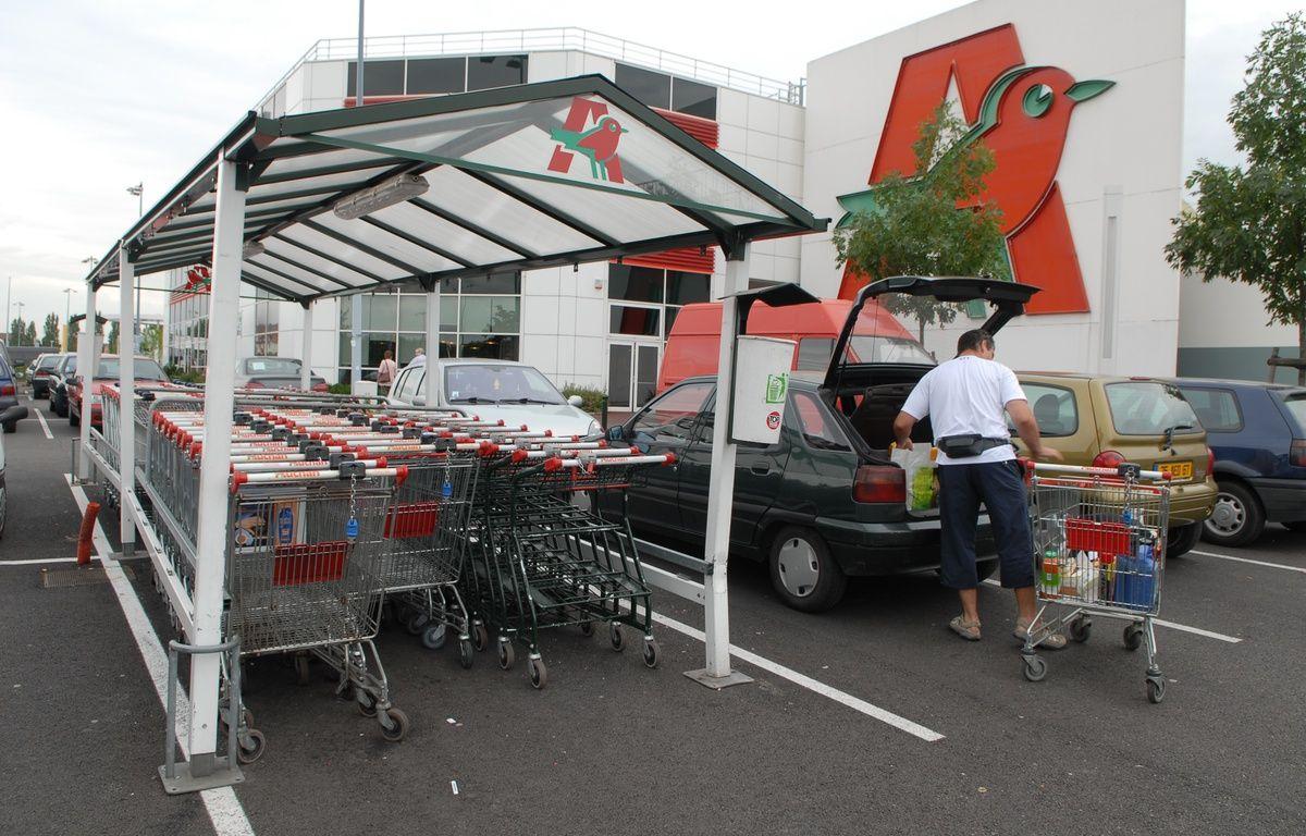 Un supermarché Auchan (illustration). – G. Varela / 20 Minutes