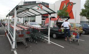 Un supermarché Auchan (illustration).