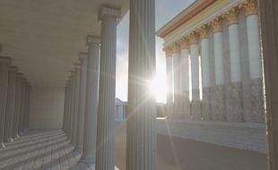 Extrait du film en 3D consacré à la ville de Toulouse de l'âge du Bronze à la période romaine.