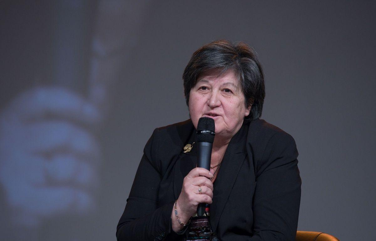 Catherine Barbaroux, la nouvelle présidente par intérim de la «République en Marche», à Dijon, le 13 janvier 2017. – JC TARDIVON/SIPA