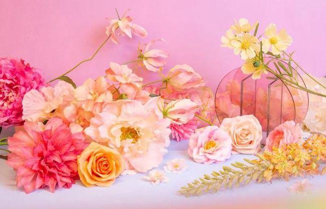 Composition florale par Pampa