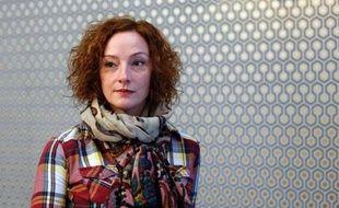 Florence Cassez à Paris, le 21 janvier 2014 un an après sa libération d'une prison mexicaine le 24 janvier 2013