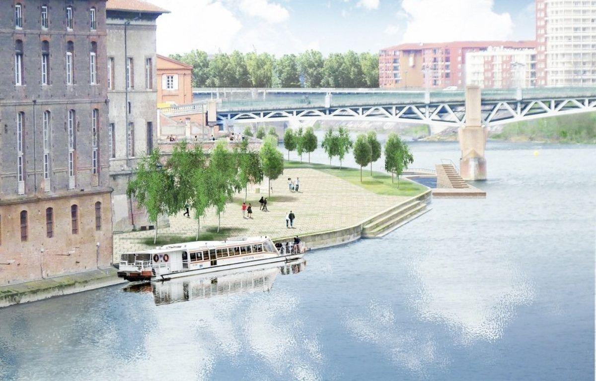 Le réaménagement du port Viguerie selon Joan Busquets. – Agence BAU-B