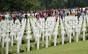 La commémoration du centenaire de la bataille de Verdun.