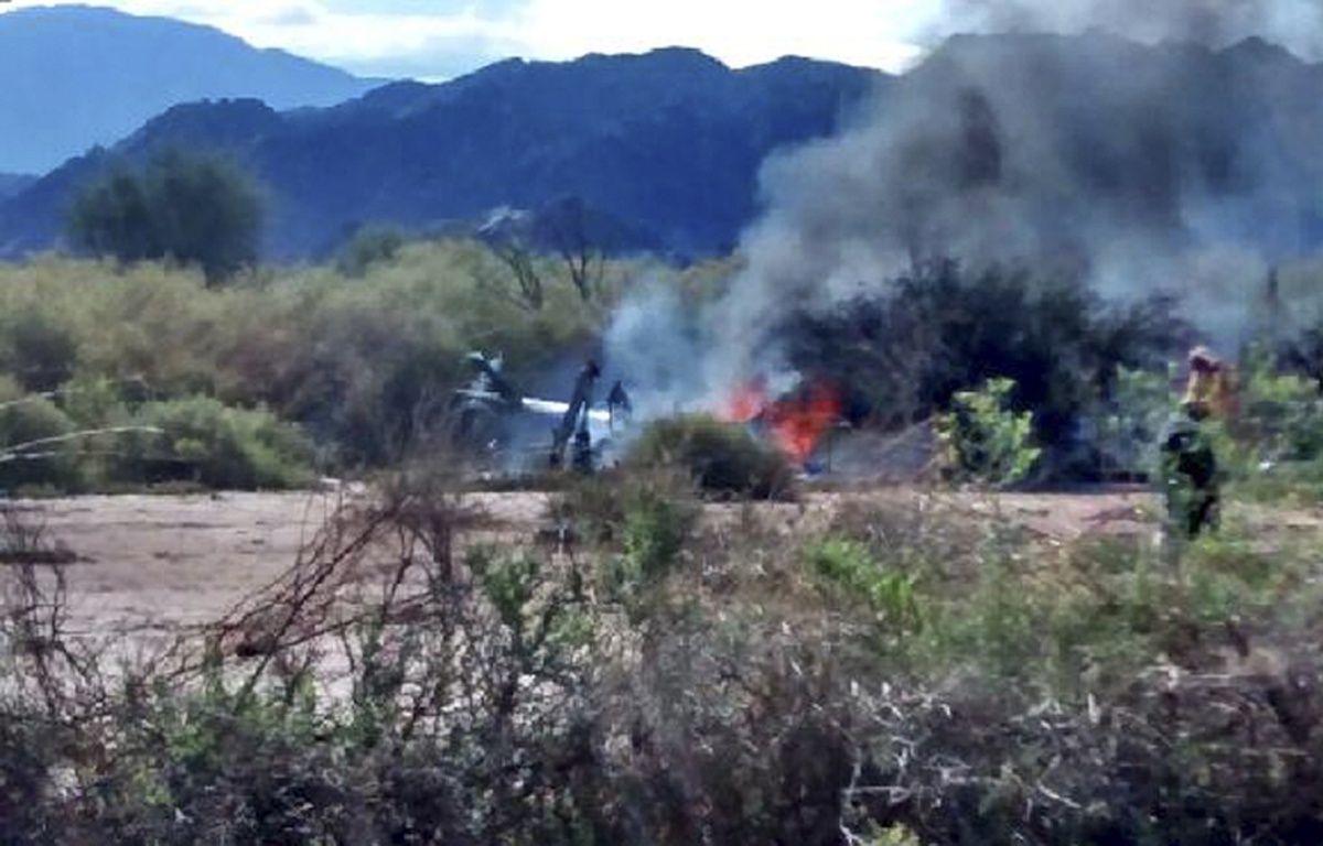 Une collision entre deux hélicoptères a fait 10 morts, le 9 mars, en Argentine. –  AFP PHOTO / NA