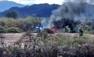 Une collision entre deux hélicoptères a fait 10 morts, le 9 mars, en Argentine.