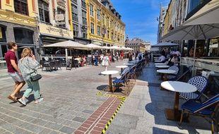 Les cafés, bars et restaurants ont rouvert ce 2 juin à Lille.