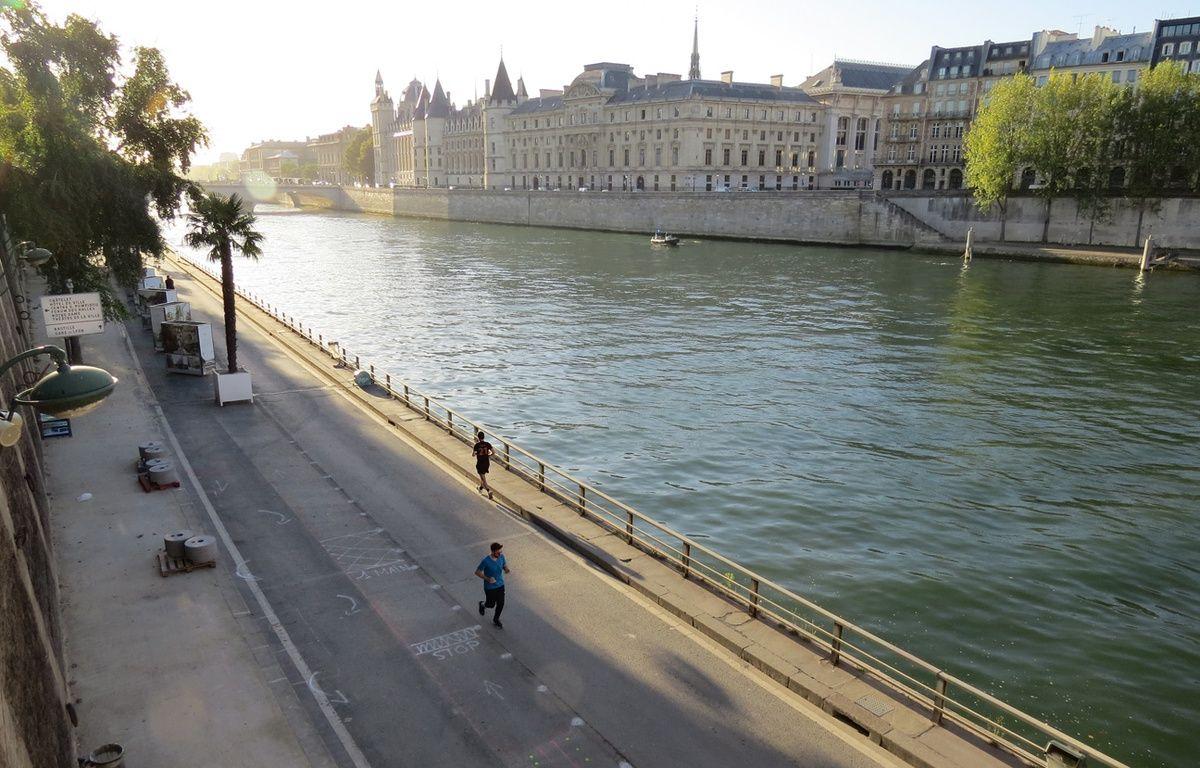 La voie Georges-Pompidou est désormais fermée à la circulation – R.LESCURIEUX