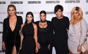Les stars de la télé-réalité Khloé, Kourtney et Kim Kardashian, Kris et Kylie Jenner