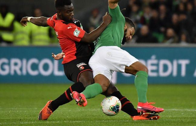 ASSE-Rennes: Décevant et peu inspiré, le Stade Rennais ne défendra pas son titre en Coupe de France