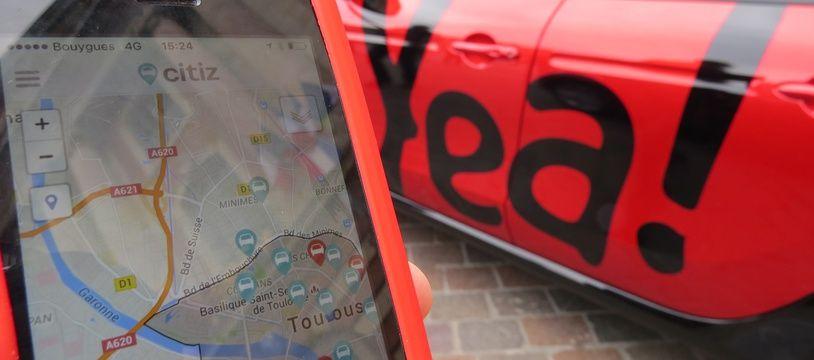 Les premières voitures en autopartage Yea, de la coopérative Citiz, ont été mises en service en 2016.