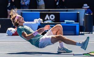 Stefanos Tsitsipas a sorti Federer en Australie.