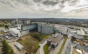 Le centre hospitalier de Mulhouse.