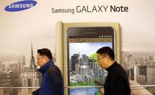 Le succès du Galaxy Notedope les performances de Samsung sur le marché mondial des smartphones.