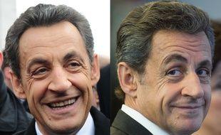 Montage 20 Minutes avec Nicolas Sarkozy en 2012 et en 2016.