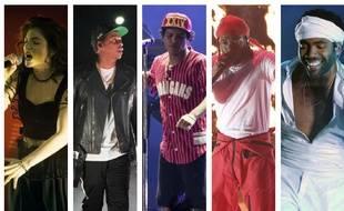 Lorde, Jay Z, Bruno Mars, Kendrick Lamar et Childish Gambino sont nominés dans la catégorie «Meilleur album» aux Grammy Awards