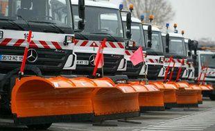Les chasse-neiges du Grand Lyon ont débuté les opérations de salage mardi 30 novembre 2010 en raisons des fortes chutes de neige.