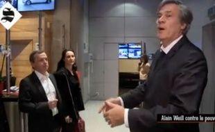 Stéphane Le Foll dans les locaux de BFMTV.