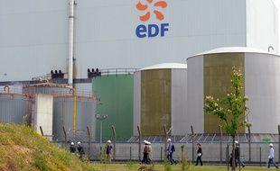 La centrale nucléaire de Fessenheim gérée par EDF,  le 29 avril 2011.