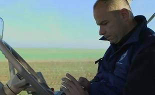 Arnaud Rousseau, agriculteur, président de la FDSEA de Seine-et-Marne et adepte de Twitter.