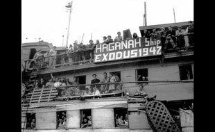 Le 10 juillet 1947, le bateau «Exodus», affrété par la Haganah, quitte le port de Sète avec 4.554 juifs rescapés des camps nazis à son bord.