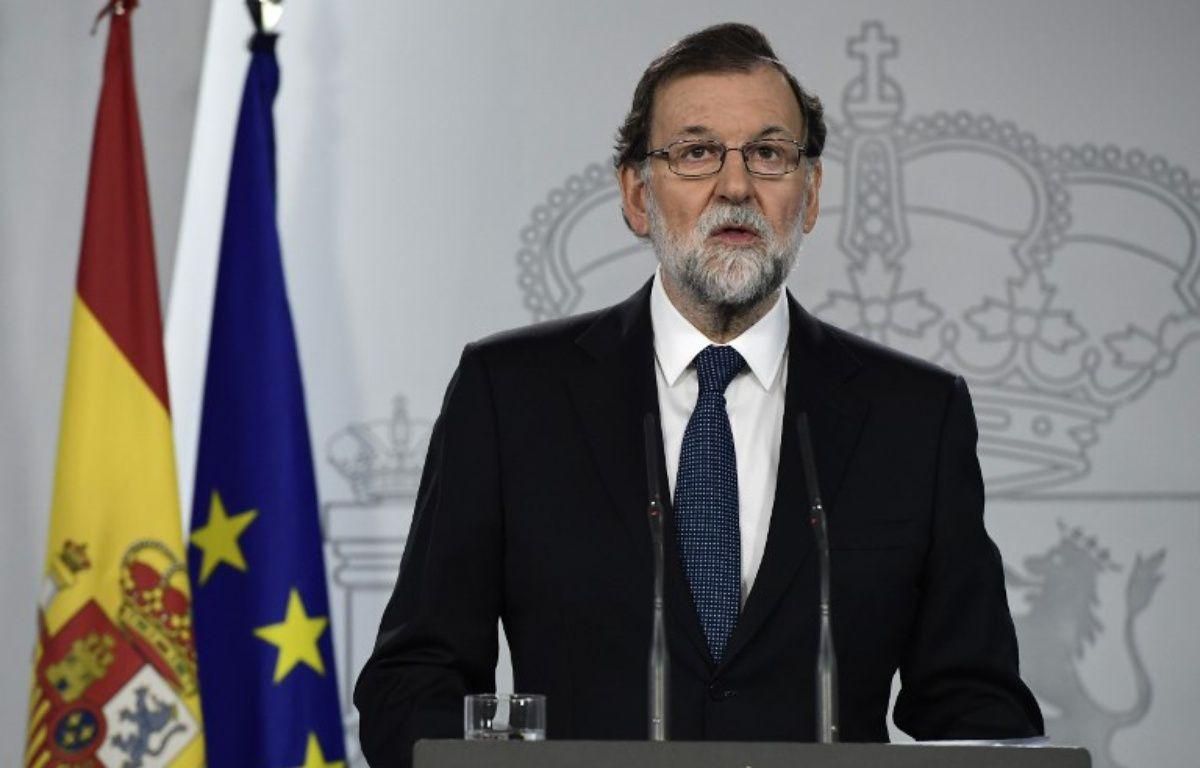 Le Premier ministre espagnol Mariano Rajoy – JAVIER SORIANO / AFP