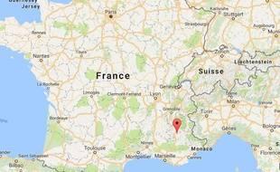 L'épicentre se situerait près de Gap, à proximité du village de La Motte-du-Cairedans les Alpes-de-Haute-Provence.