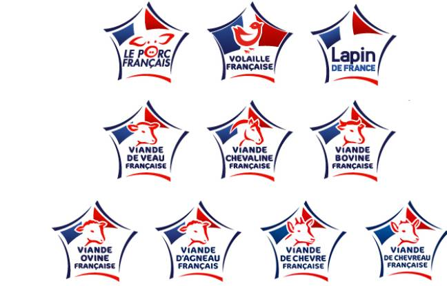 Les logos Viande de France.