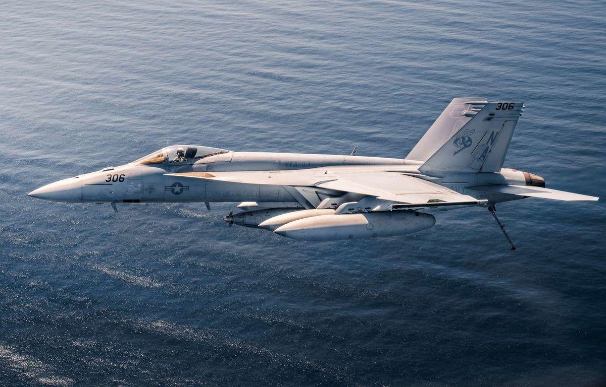 Un F/A-18E Super Hornet de l'armée américaine. –  Aaron B. Hicks/U.S. Navy/SIPA