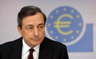 Le président de la Banque centrale européenne (BCE) Mario Draghi à Francfort (Allemagne) le 7 août 2014