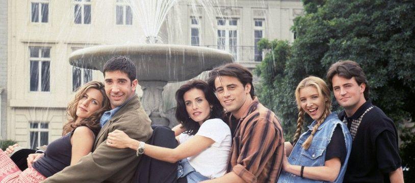 Le casting principal de Friends