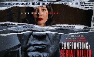 L'affiche de la série de documentaires Confronting a serial killer
