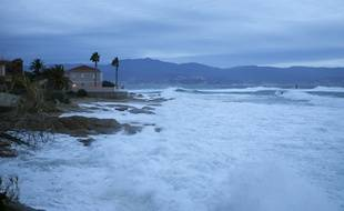 La Corse balayé par les vents
