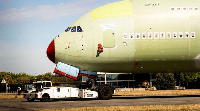 Airbus vient d'achever l'assemblage du dernier A380