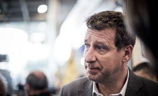 La tête de liste d'Europe Ecologie Les Verts (EELV), Yannick Jadot.